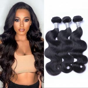 body wave Brazilian hair bundles